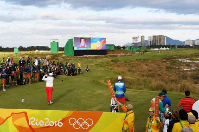 Olympics: Golf underway at Games after 112-year absence