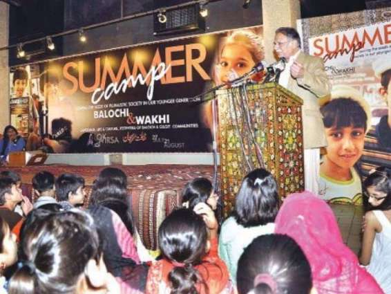 Languages summer camp concludes today at Lok Virsa