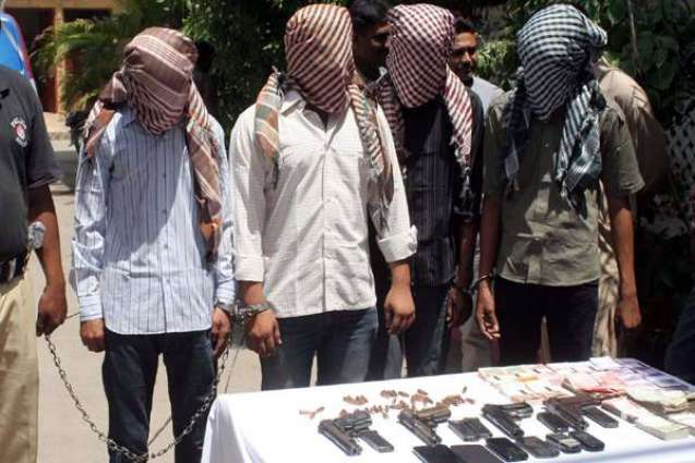 42 criminals held with drugs,weapons