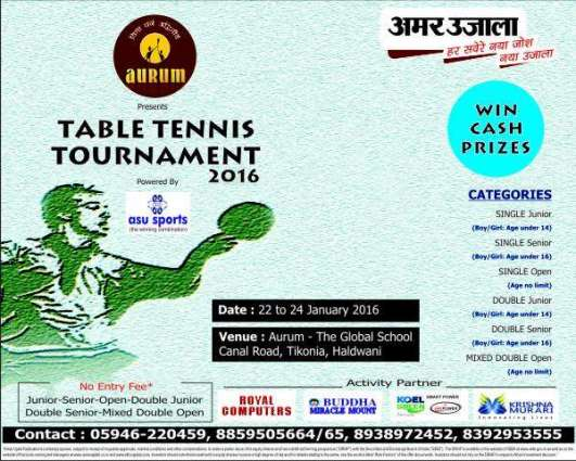 Abdul Wahab, Roshna win Jashne-e-Azadi table tennis events