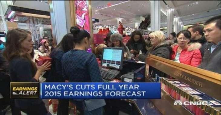 Strong Macy's, Alibaba lift US stocks