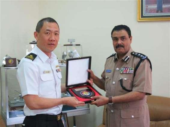 Commander Royal Oman Police Coast Guard calls on DG PMSA