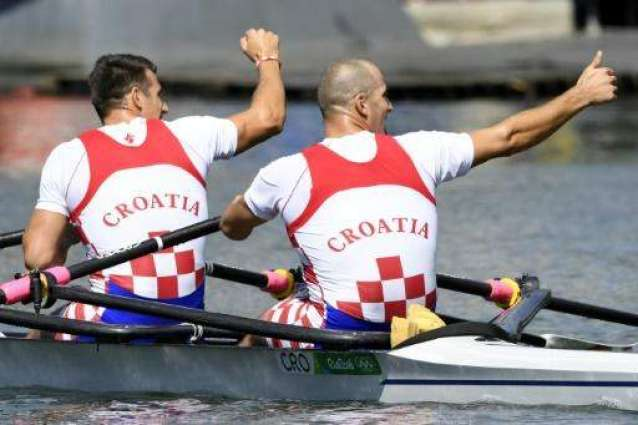 Olympics: Croatia brothers strike gold in men's double sculls