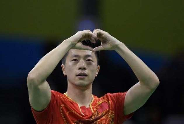 Olympics: China's Ma wins men's table tennis gold
