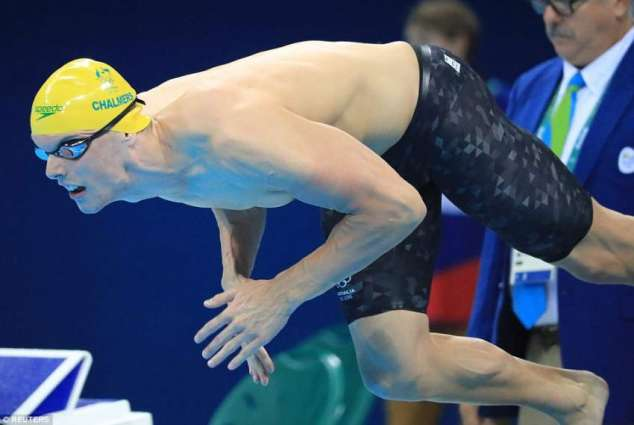 Olympics: Aussie dad sees footy future for gold medal swimmer