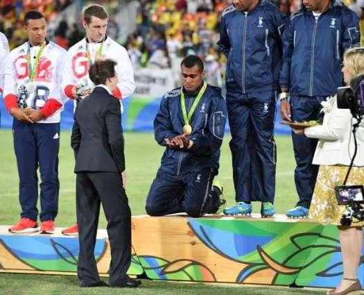 Olympics: Tears of joy as Fiji celebrates 'biggest day'