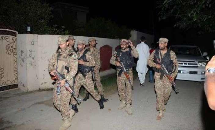 Rawalpindi: Combing Operation, 6 terrorists arrested including 2 Commandos