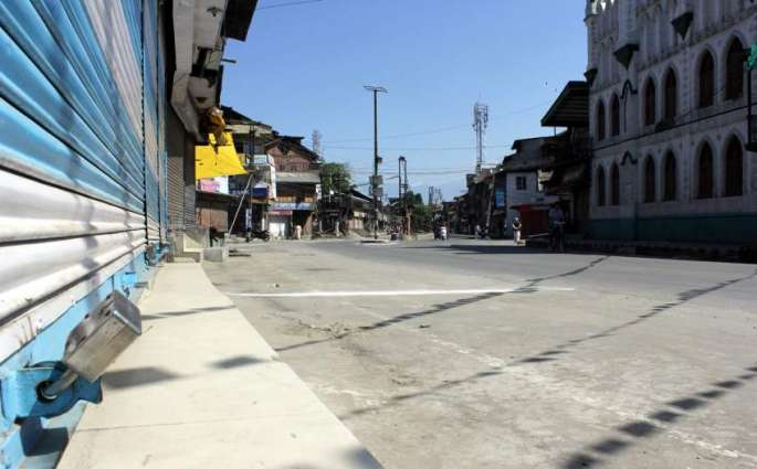 Kashmir: Indian brutality at extreme, all mosques including Jamia Masjid forced closed in Srinagar