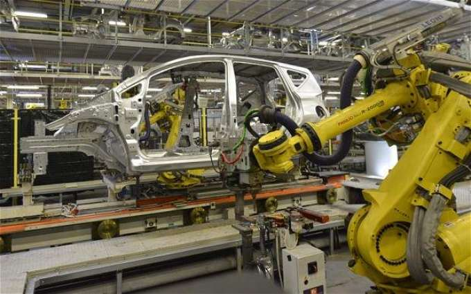 Car production falls by 3.87% in July