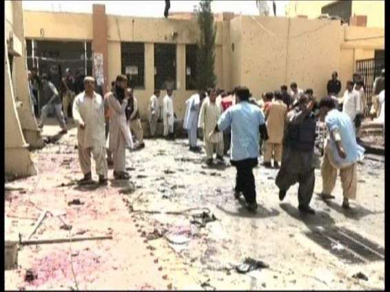 Peshawar Students travel to Quetta to show solidarity with blast victims