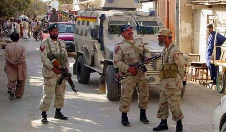 Operation of Security Forces in Kohlu, 4 militants killed