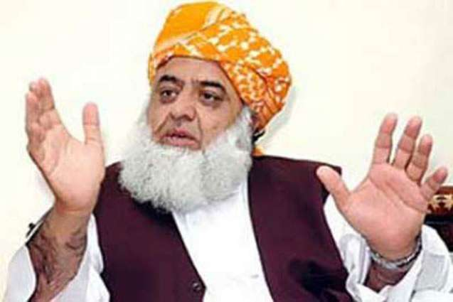 Molana Fazal-ur-Rehman makes his visit to the injured of quetta blast