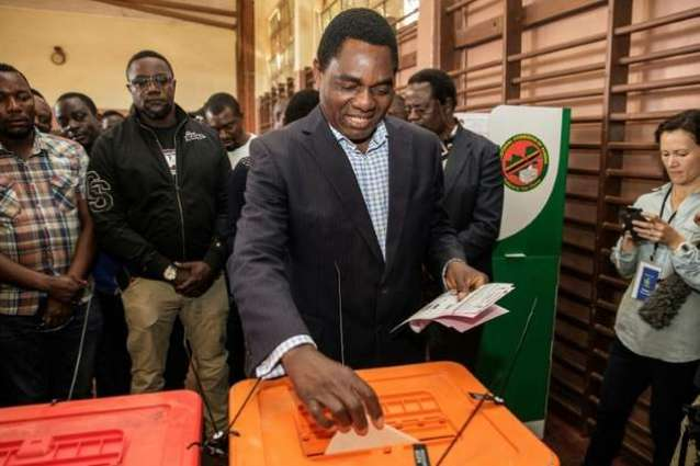 Zambia awaits election result after tense campaign