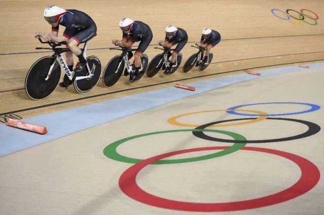 Olympics: Britain retain cycling team pursuit gold, break world record