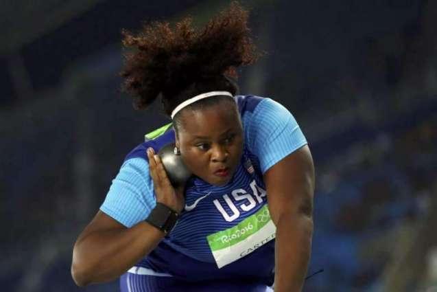 Olympics: Michelle Carter stuns Adams to claim shot put gold