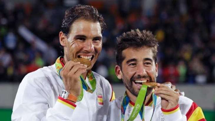 Olympics: Nadal strikes double gold, Puig, Kerber in women's final