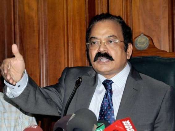 Punjab Law Minister talking with media
