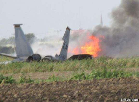 A small jet crashed in Virginia