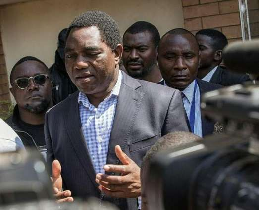 Zambia opposition leader ahead in early election results