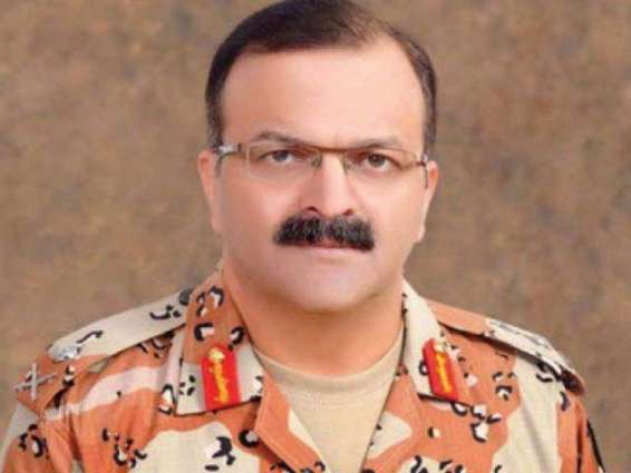 DG Rangers Maj Gen arrived at Expo Center, Karachi