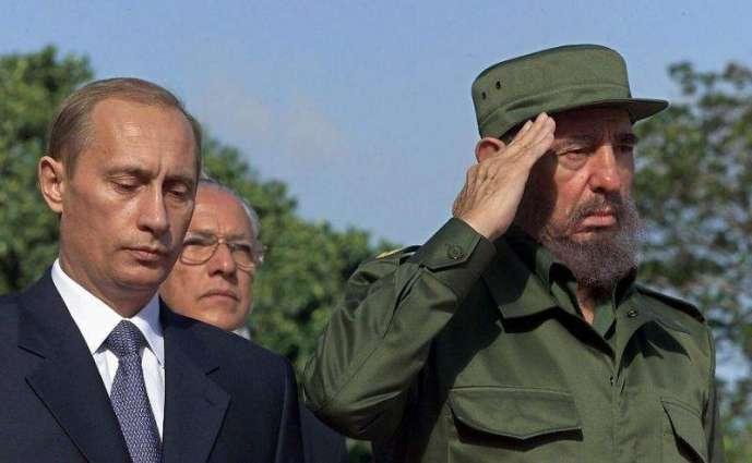 Putin wishes 'dear friend' Fidel Castro happy 90th birthday