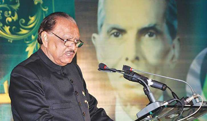 President Mamnoon confers non-operational military awards
