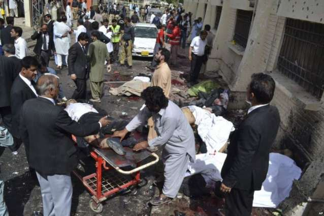 کوئٹہ دھماکے دا اک ہور زخمی دم دے گیا، موتاں دی گنتی 74 ہوگئی