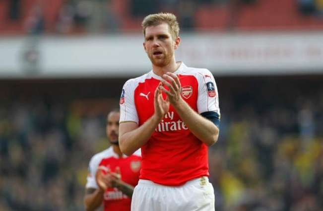 Football: Injured Mertesacker named Arsenal captain