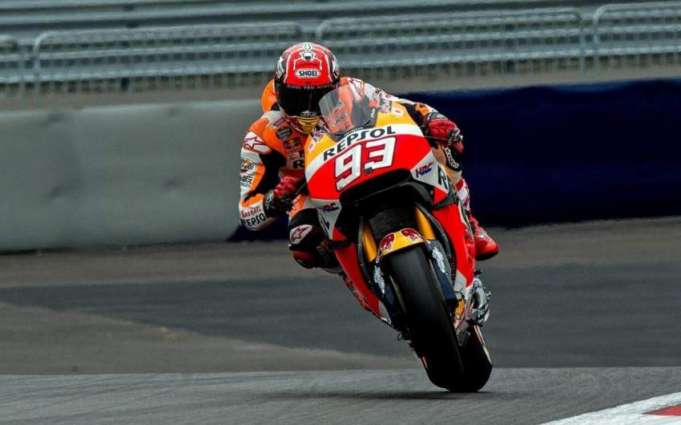 Motorcycling: Marquez crashes in Austrian practice