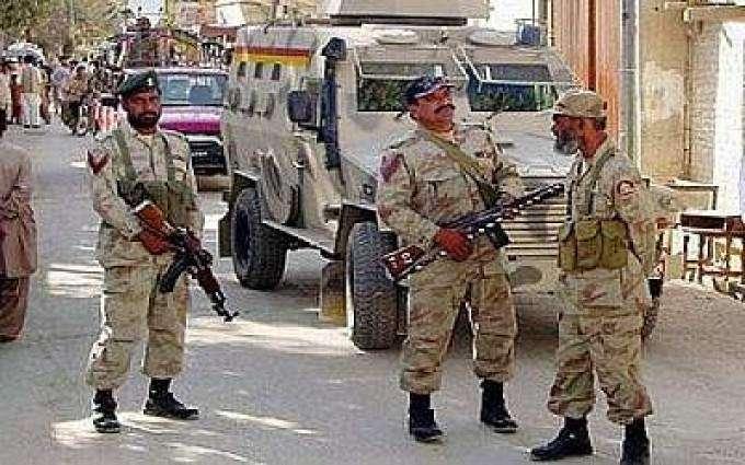 په نوشكي كښې د فرنټيئر كور بلوچستان په كارروائې كښې 40 كلوګرامه چاوېدونكي توكه ترلاسه كولو سره د ورانكارې پلان شنډ كړے شوے