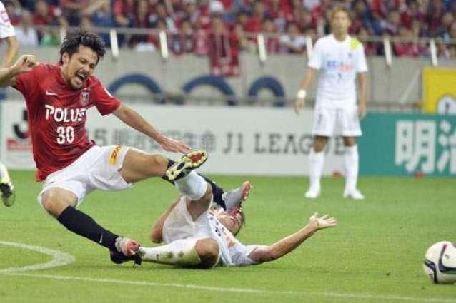Football: Urawa top as Kawasaki end unbeaten J-League run