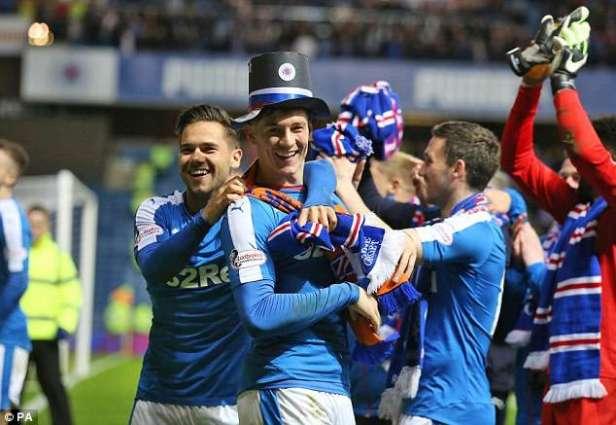 Football: Rangers claim first win since Premiership return