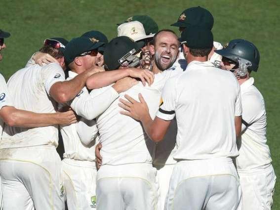 Cricket: Australia still in hunt, says Lyon