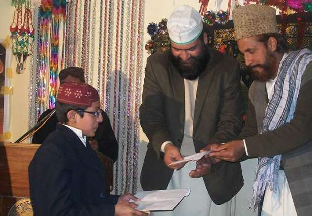 Naat recitation contest among madrasas students