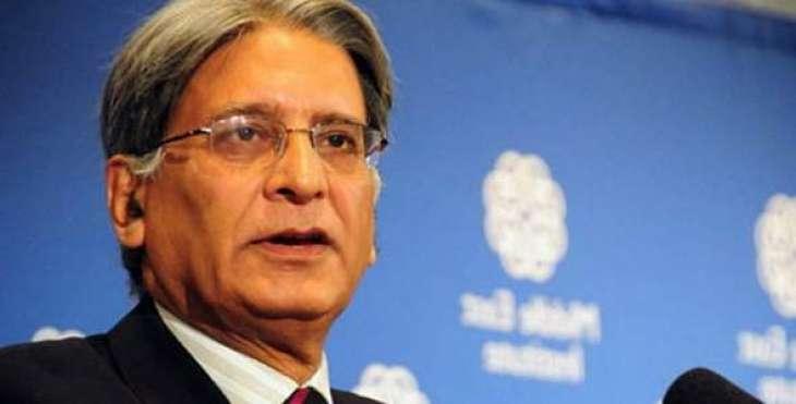 PPP leader Aetzaz Ahsin calls spade a spade to Nisar Ali Khan