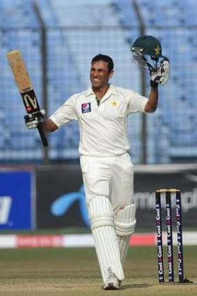 Cricket: Younis's double ton puts Pakistan on top against England