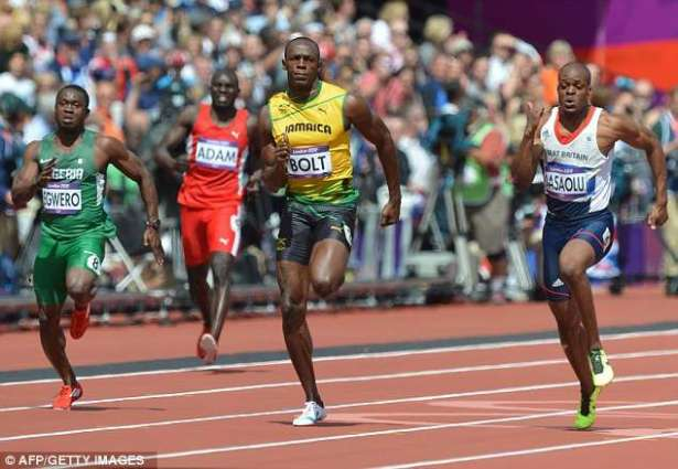 Olympics: Bolt safely through 100m first round