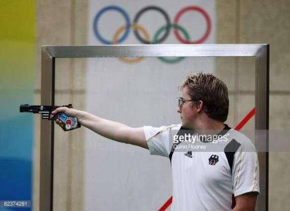 Olympics: Germany's Reitz wins men's 25m rapid fire pistol gold