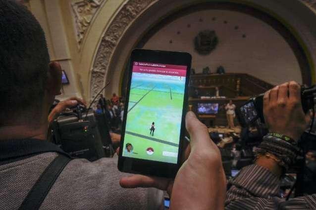 In violence-racked Venezuela, Pokemon Go as protest