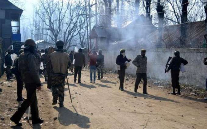 Indian troops martyr two youth in Baramulla