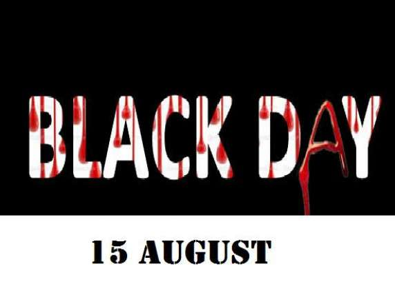 India's Independence Day observed as Black Day in IOK