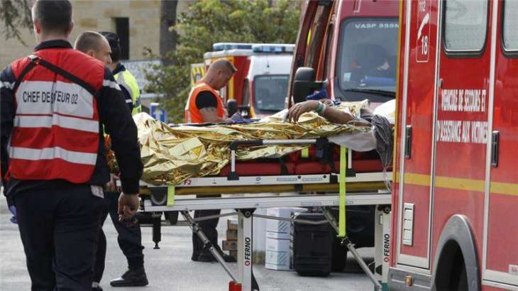 'Firecrackers' spark panic at French Riviera resort