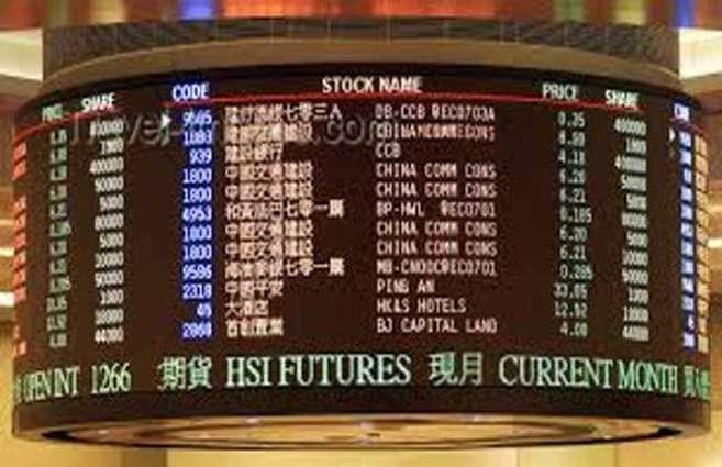 Hong Kong and Shanghai stocks end higher