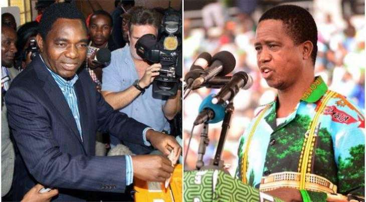Zambia's Lungu ahead as opposition cries foul
