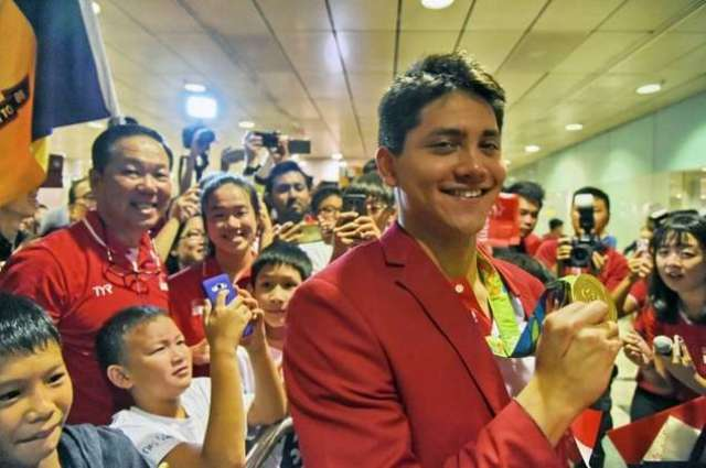 Olympics: Rousing welcome for Singapore star Schooling