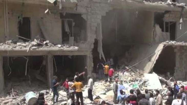 په حلب او ادلب كښې په بمبارې كښې ګڼ شمېر كسان وژل شوي