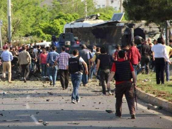 Three killed in PKK bombing near Turkey's Diyarbakir: official
