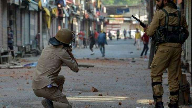 Kashmiries observe Indian Independence Day as Black Day