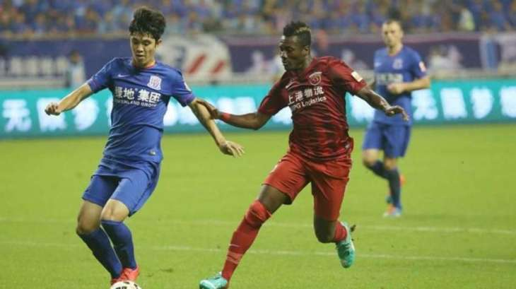 Football: Shanghai surprise as Martins stuns CSL leaders