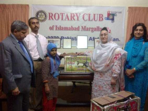 Rotary Club hold